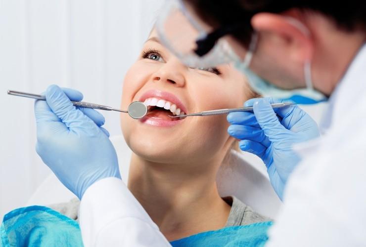 чистка зубов харьков